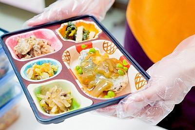 ライフデリの配食サービスイメージ
