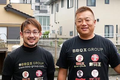 BBQ王 鹿児島の中原オーナーと息子