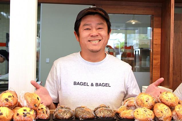 BAGEL&BAGEL Cityのフランチャイズに加盟されたオーナーの写真