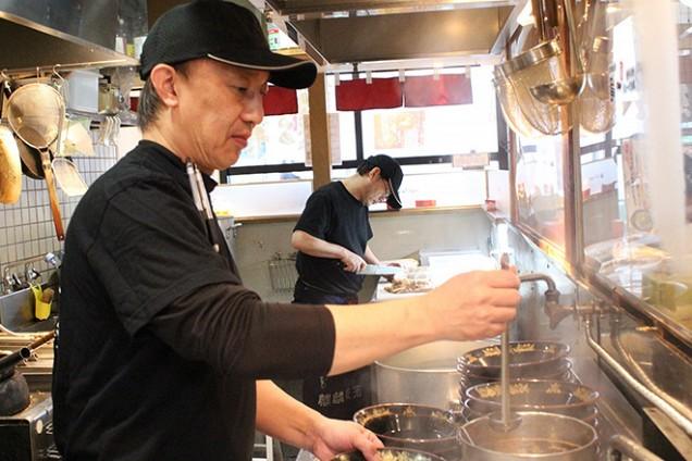 5店舗の「元祖 中洲屋台ラーメン一竜」をプロデュースしてきた川北