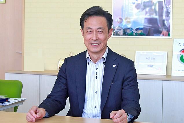 株式会社エコプランの金山昇司代表