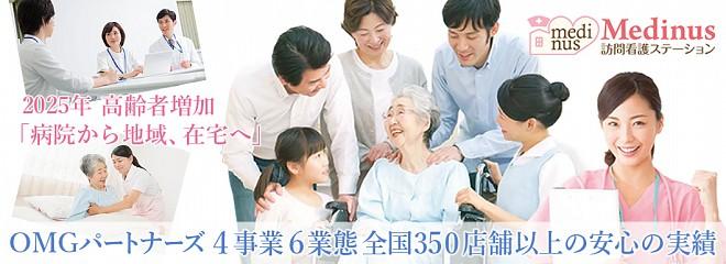 訪問看護ステーションのビジネスイメージ