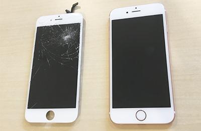 iPhone修理Worker - 自社工場でパーツを生産!さらに、不要の液晶パネルを再生!