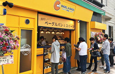 BAGEL&BAGEL City - 日本最大級のベーグル専門店がFC開始!1号店は大行列&取材依頼も