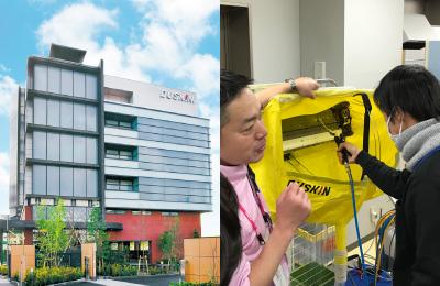 ダスキン - 充実の研修システムで、安心して事業運営できる環境を整備