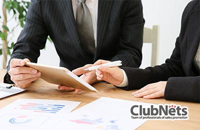 クラブネッツ - 充実の営業サポート!本部との同行営業もOK!