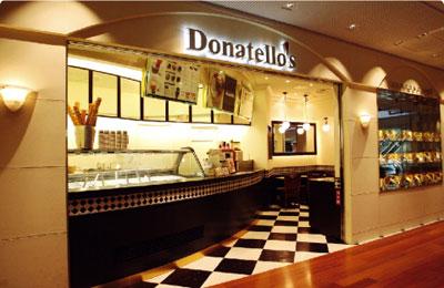 Donatellos - 集客有利な商業施設やサービスエリアで開業実績有