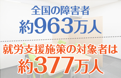 笑顔プロジェクト - 国も後押し!日本の経済成長を支える障がい者就労支援事業