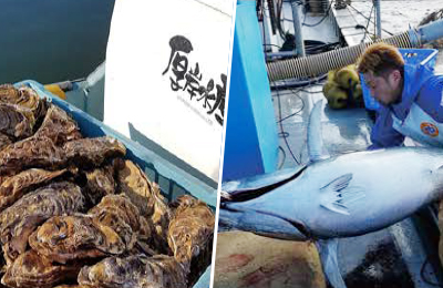 厚岸水産 - 25人の漁師から直接仕入れ。漁師の想いをお客様に届ける仕事