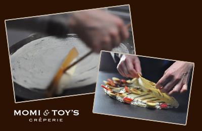 MOMI&TOY'S - 飲食経験がなくても最高級のクレープを提供