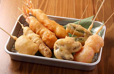 串かつマル - 「ここでしか食べられない!」差別化を実現した串かつで集客