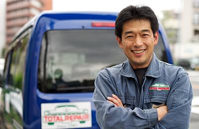 トータルリペア - 自動車ディーラーがメイン顧客!競合しないための「エリア制」も