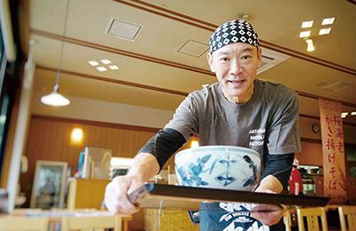 信州そば「そば茶屋」 - 加盟金・保証金は0円!毎月ののれん使用料2万円(税別)のみ!