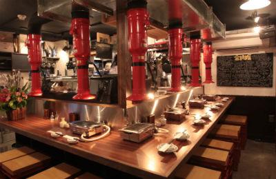和牛一頭流「金肉屋」 - 本部の高いメニュー開発力で立地に合わせた店舗作り